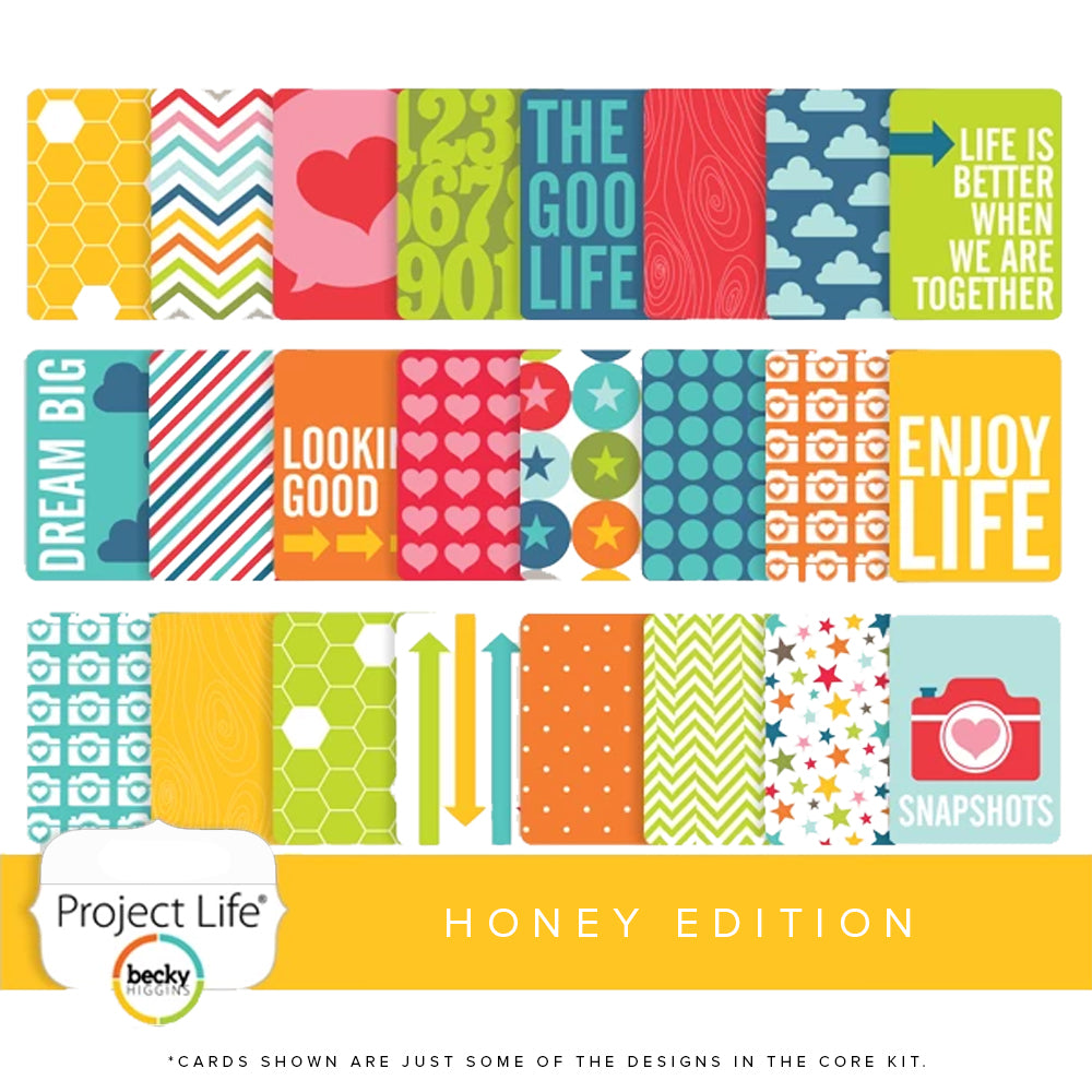 Project Life Core Kit: Honey Edition