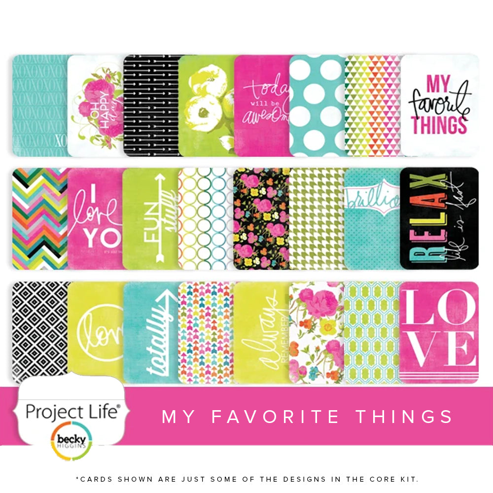 Project Life Core Kit: My Favorite Things