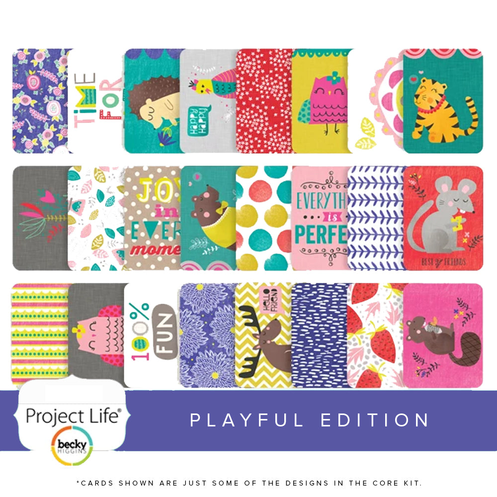 Project Life Core Kit: Playful Edition