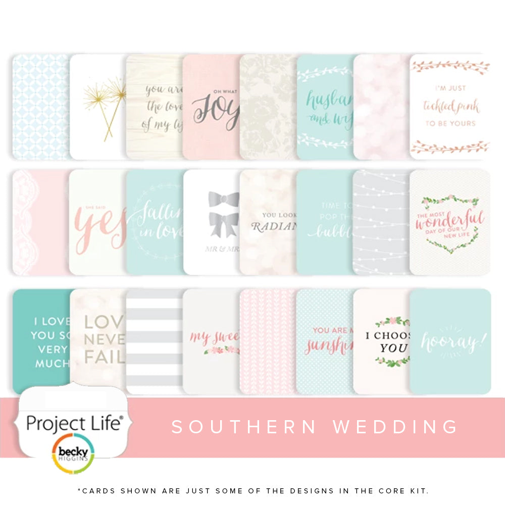 Project Life Southern Weddings Core Kit
