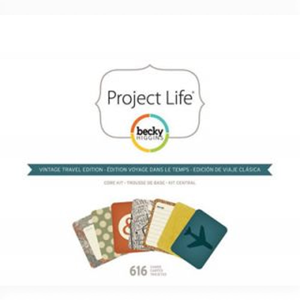 Project Life Vintage Travel Core Kit