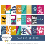 Project Life Core Kit: Wander Edition by Christine Herrin