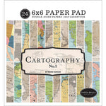 6x6 Paper Pad: Cartography No. 1