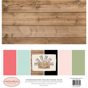 Farmhouse Market 12x12 Solids Kit