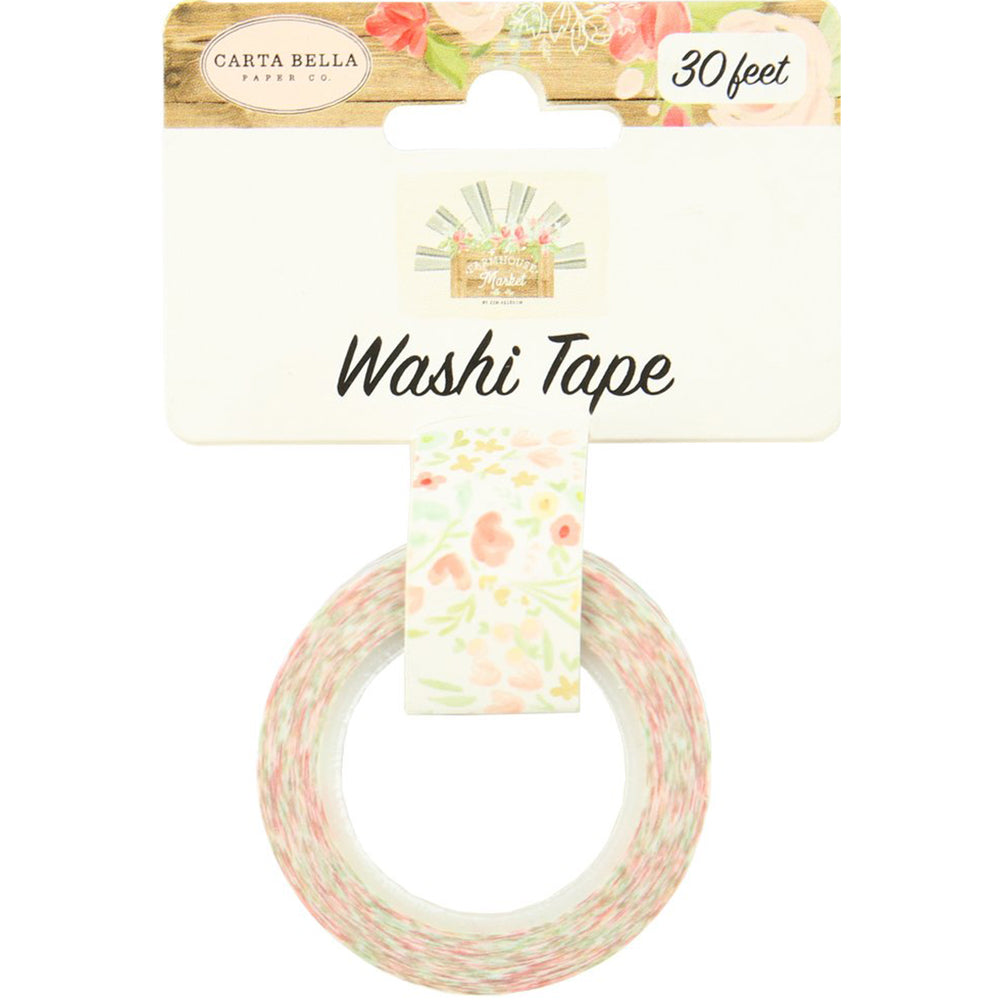 Washi Tape: Farmhouse Market Sweet Blooms
