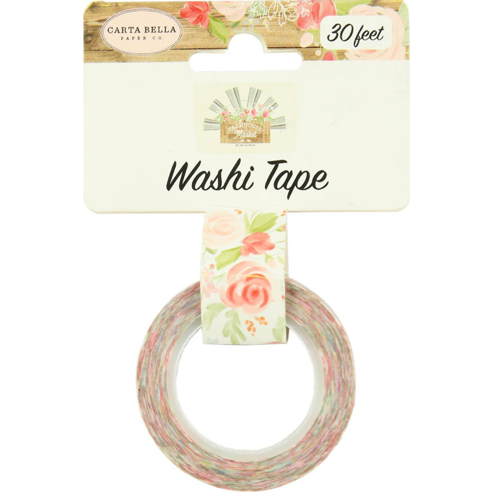 Washi Tape: Farmhouse Market Lovely Bouquet