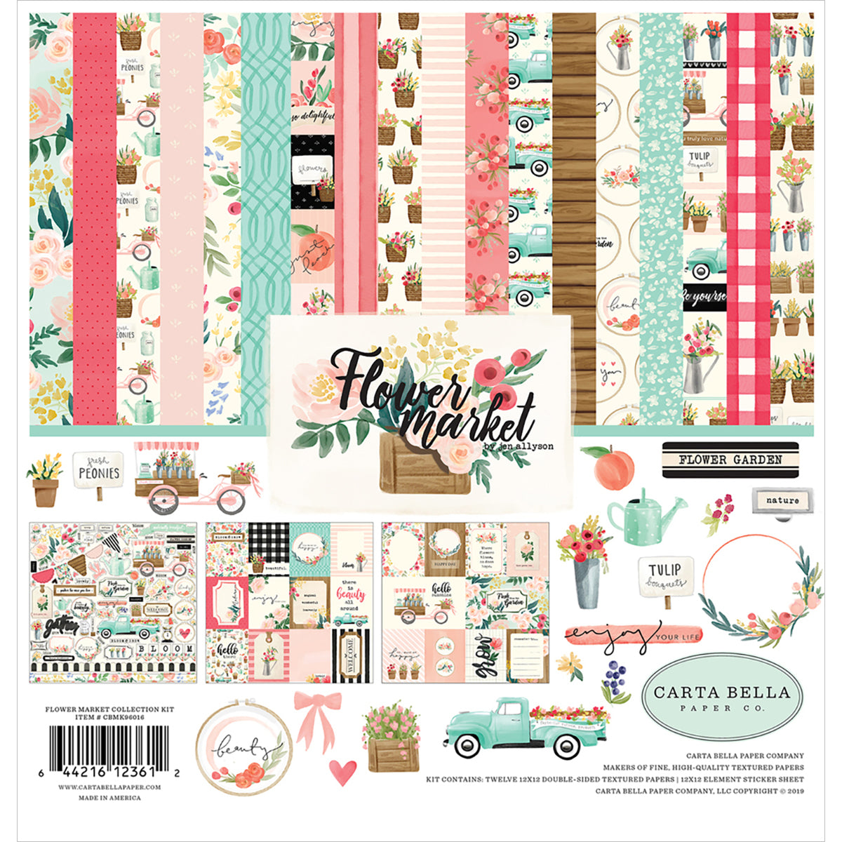 Flower Market 12x12 Collection Kit