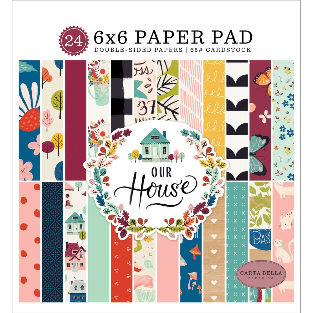 6x6 Paper Pad: Our House