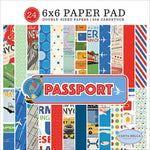 6x6 Paper Pad: Passport