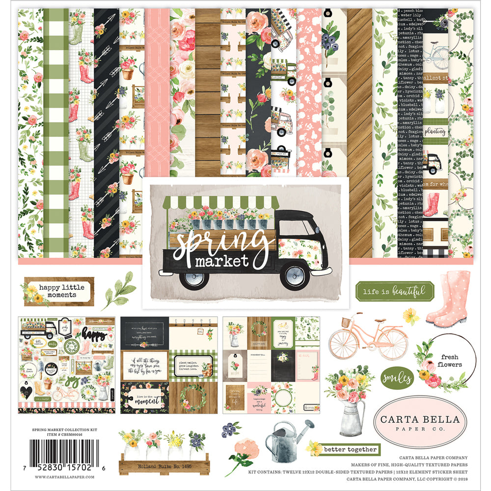 Spring Market 12x12 Collection Kit