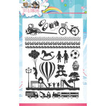Yvonne Creations Tots & Toddlers 6x8 Clear Stamps