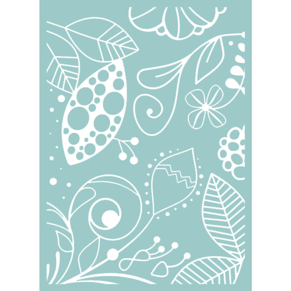 5x7 Embossing Folder: The Marriot (Great Fubu)