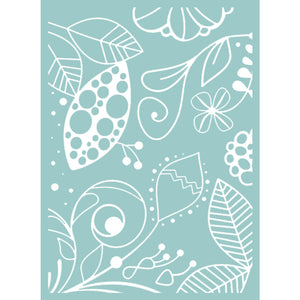 The Marriot Great Fubu 5x7 Embossing Folder
