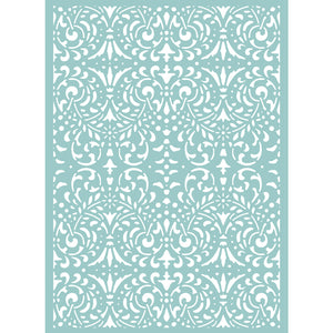 C'est La Vie Intricate Background 5x7 Embossing Folder