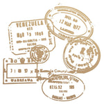 New Adventures Passport Stamps Mini Stamp