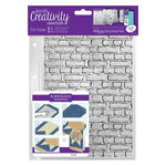 Brickwork Background A5 Clear Stamp Set