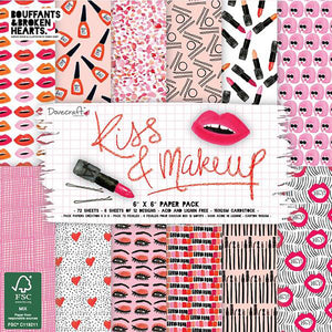 Kiss & Make Up 6x6 Paper Pad