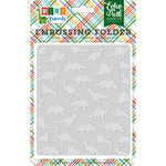 6x5 Embossing Folder: Dino Friends (Dinosaurs)