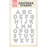 4x6 Clear Stamps: Carter Alphabet