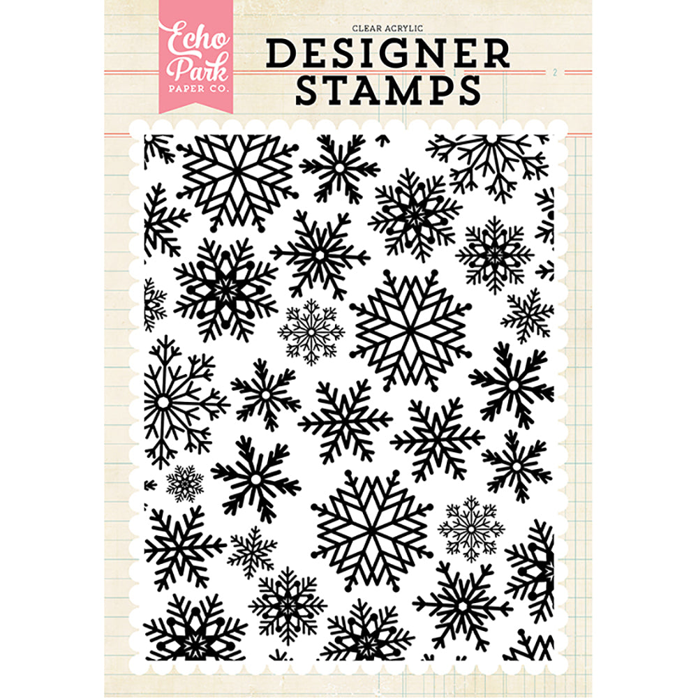 A2 Stamp Set: Winter Snow