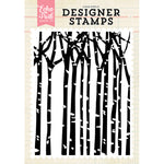 A2 Stamp Set: Winter Trees
