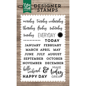 Planner Essentials 4x6 Clear Stamps