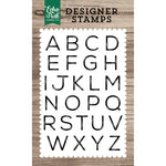 4x6 Clear Stamps: James Alphabet