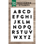 4x6 Clear Stamps: Mason Alphabet