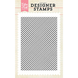 Lattice Background 4x6 Clear Stamps