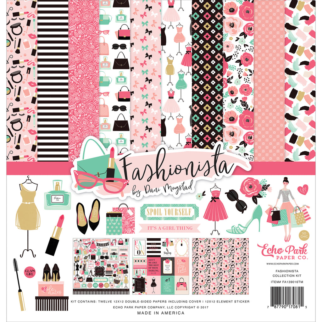 Fashionista 12x12 Collection Kit