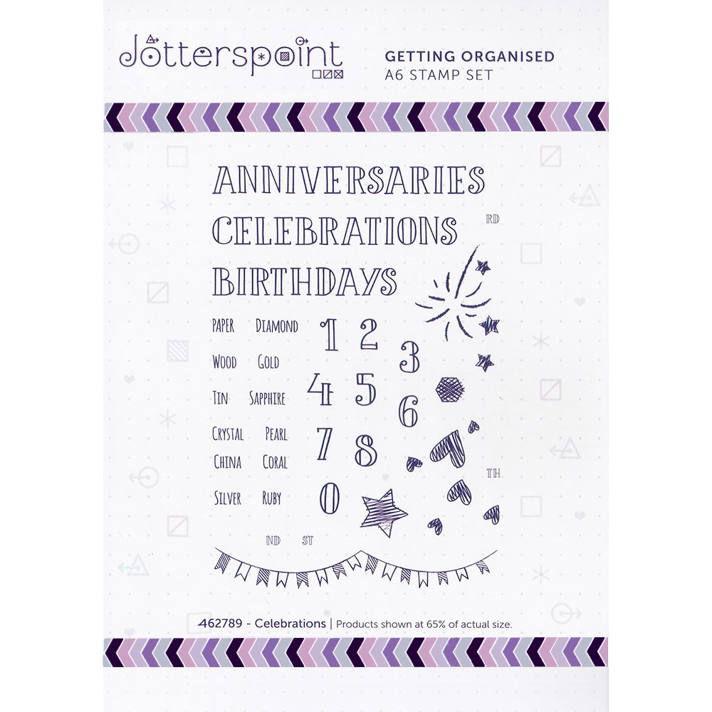 Clear Stamps: Getting Organized (Celebrations)