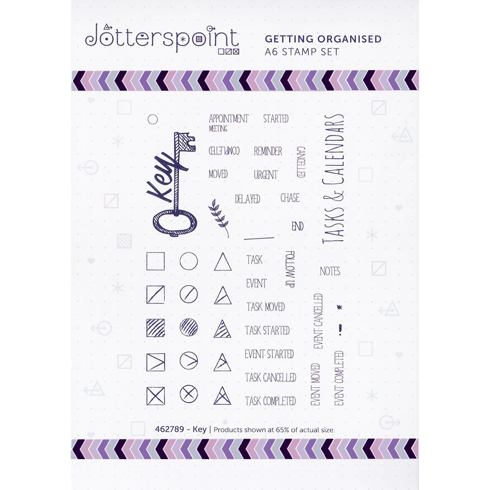 Clear Stamps: Getting Organized (Key)
