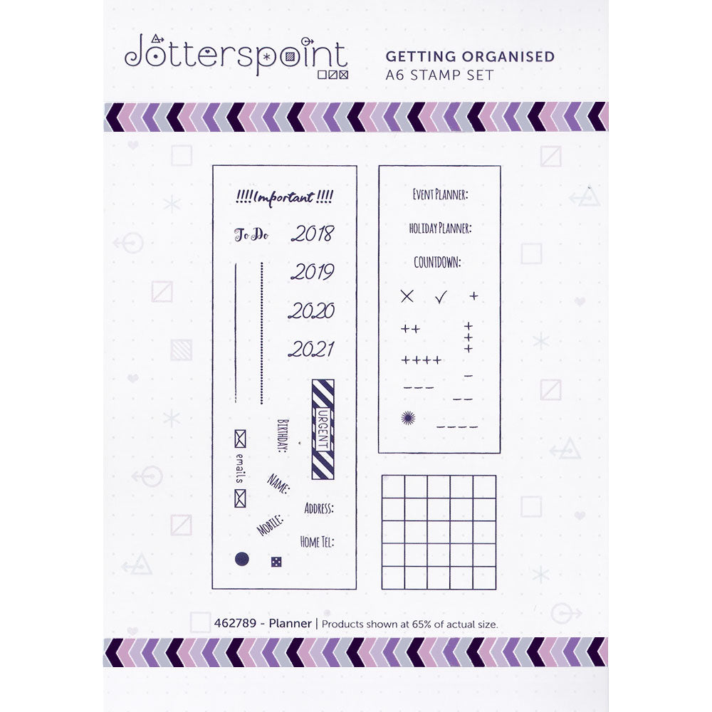 Clear Stamps: Getting Organized (Planner)