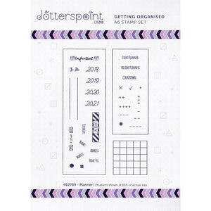 Getting Organized Planner Clear Stamps