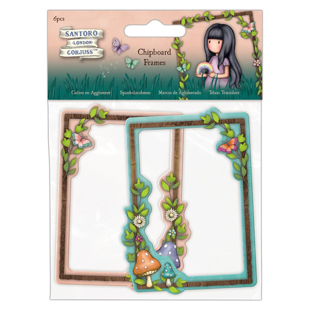Faerie Folk Chipboard Frames