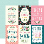 12x12 Designer Paper: Have Faith (4x6 Journaling Cards)