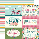 12x12 Designer Paper: Have Faith (Journaling Cards)