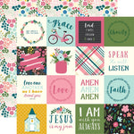 12x12 Designer Paper: Have Faith (2x2 Journaling Cards)
