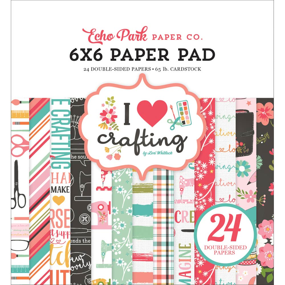 6x6 Paper Pad: I Heart Crafting