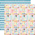 12x12 Designer Paper: Let's Be Mermaids Ocean Adventure