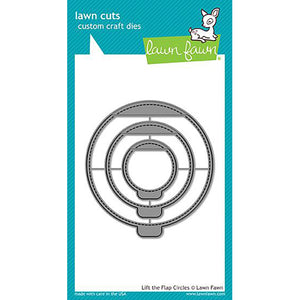 Lift the Flap Circles Lawn Cuts