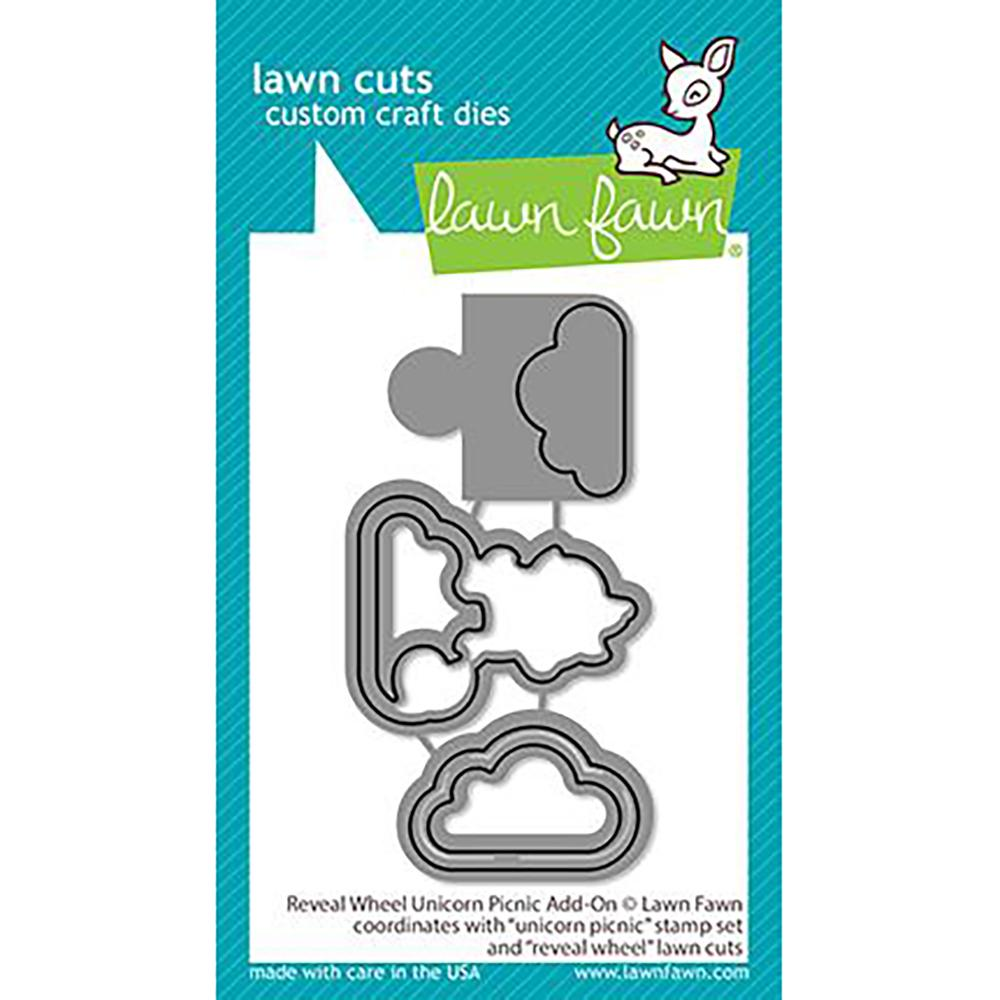 Reveal Wheel Unicorn Picnic Add-on Lawn Cuts