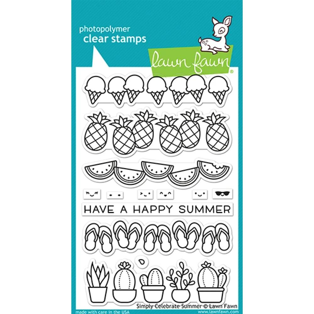 Simply Celebrate Summer 4x6 Clear Stamps