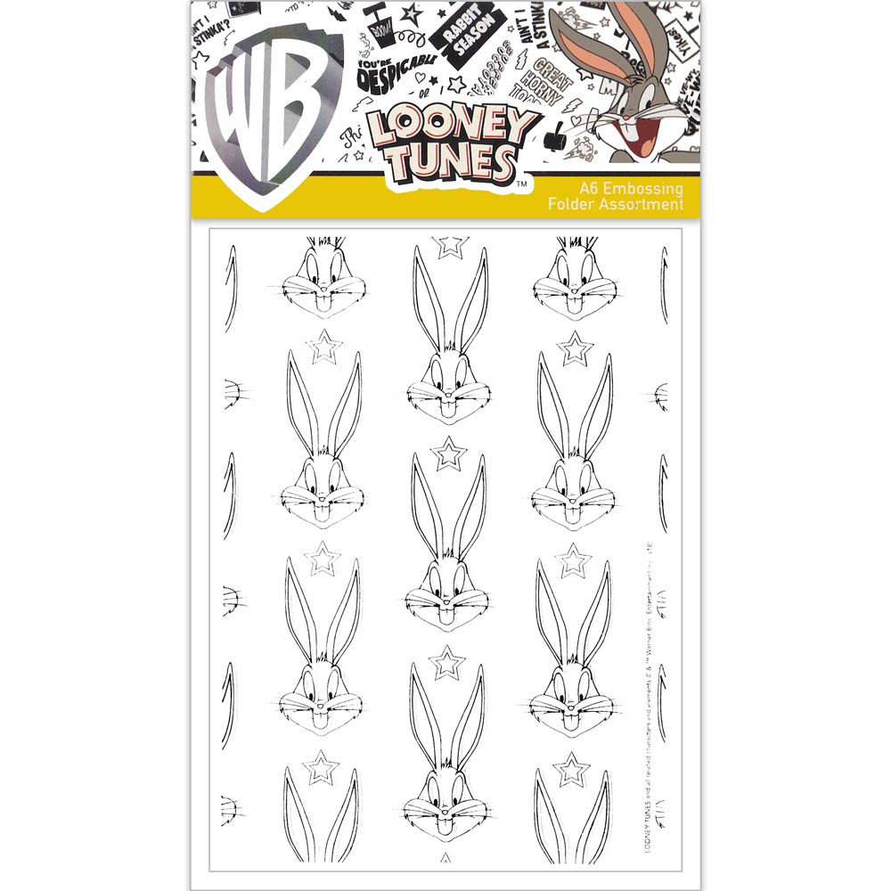 Looney Tunes Design B A6 Embossing Folder