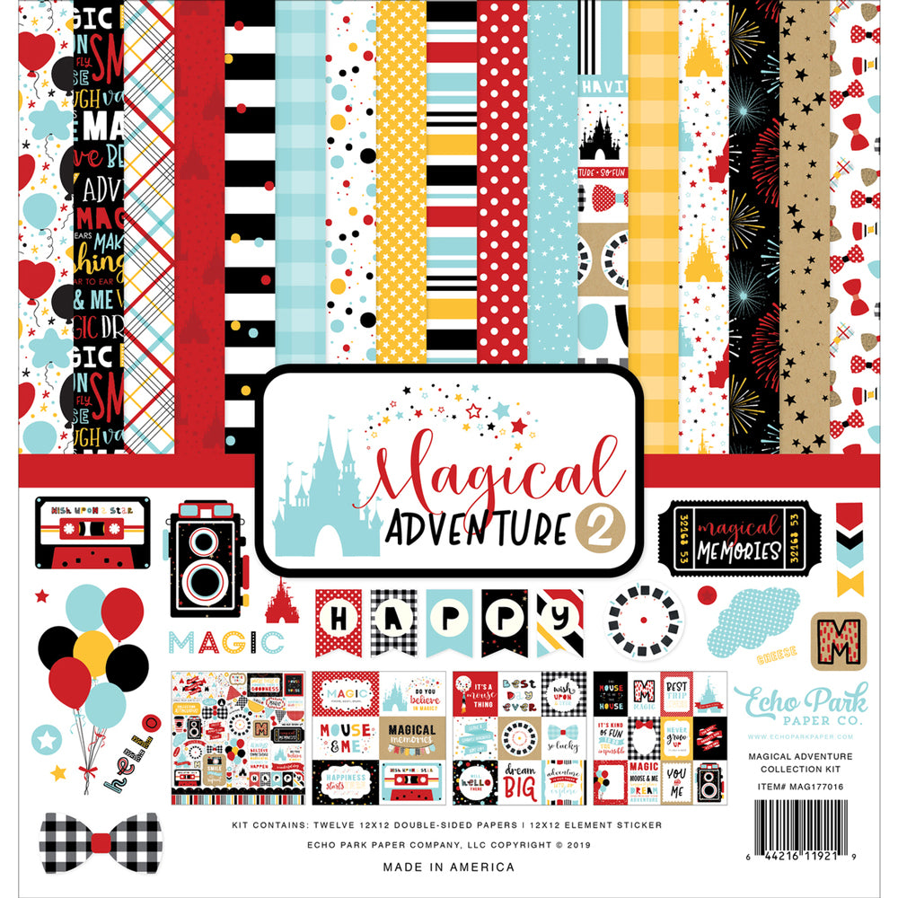 12x12 Collection Kit: Magical Adventure 2