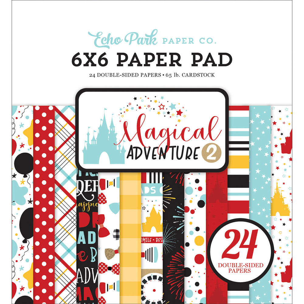 6x6 Paper Pad: Magical Adventure 2