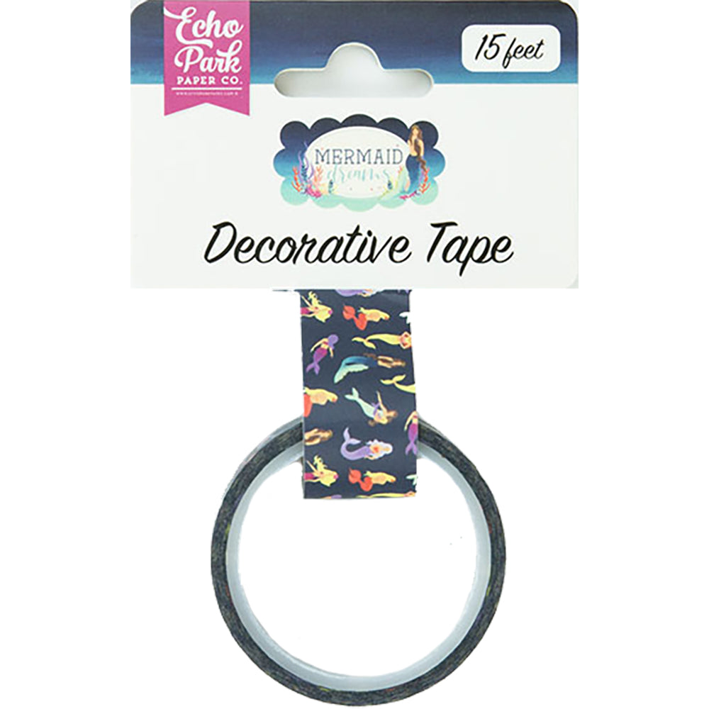 Mermaid Dreams Blue Lagoon Decorative Tape