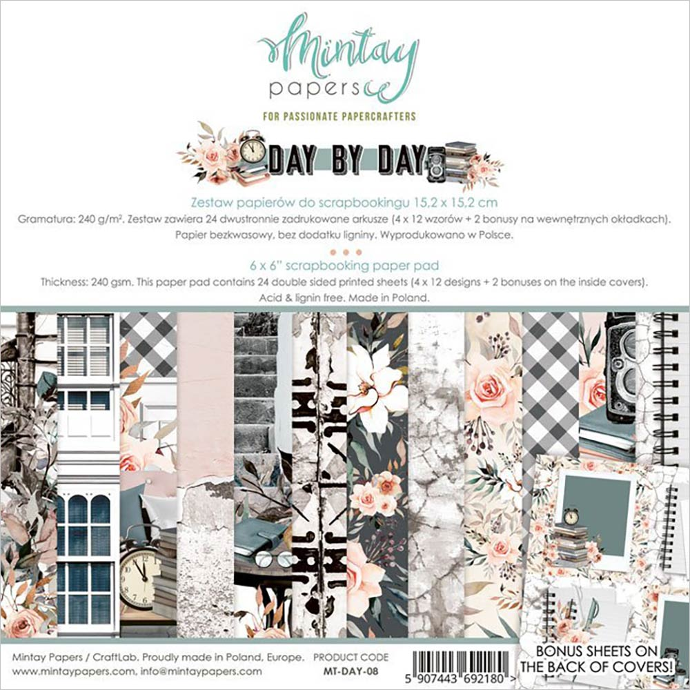 Day by Day 6x6 Paper Pad