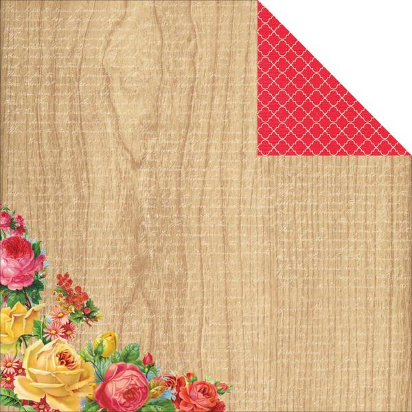 12x12 Designer Paper: Tropical Punch (Sunny)