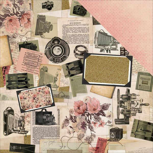 12x12 Designer Paper: Keepsake (Collage)